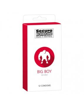 Secura Kondome Big Boy 60MM x12 Condoms