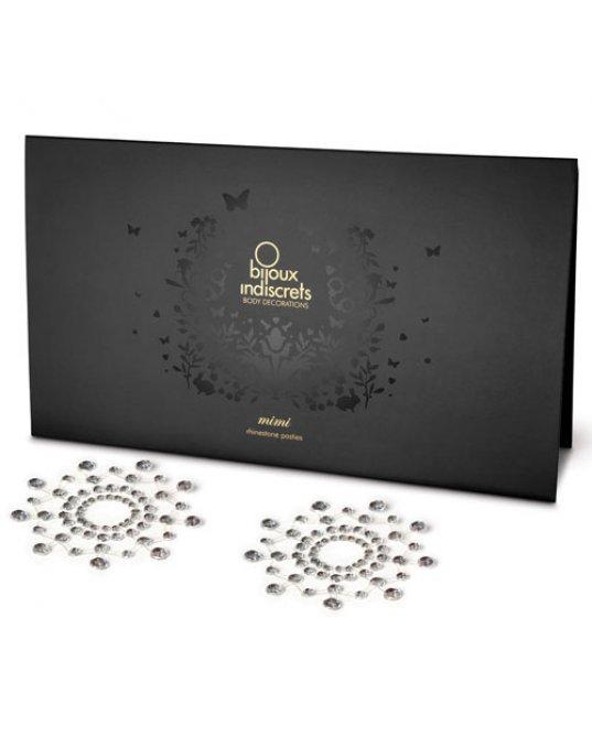 Bijoux Indiscrets Mimi Nipple Jewels Silver