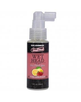 Good Head Wet Head Dry Mouth Spray Pink Lemonade 59ml