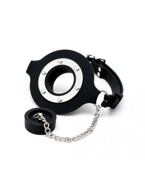Mouth Gag With Opening And Stopper