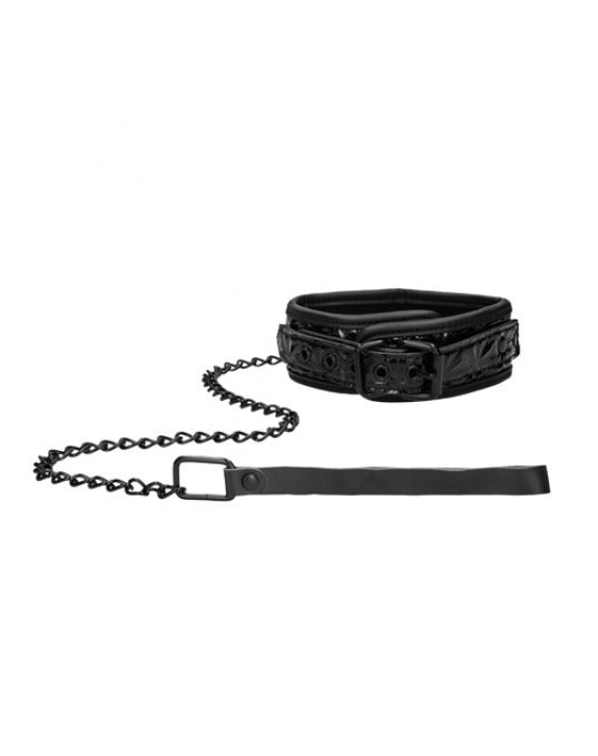 Ouch Luxury Collar With Leash
