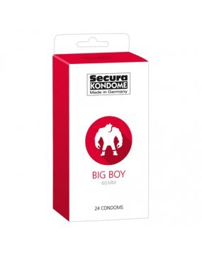 Secura Kondome Big Boy 60MM x24 Condoms
