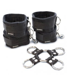 SportSheets 5 Piece Hog Tie And Cuff Set