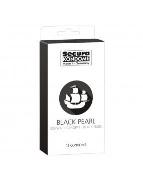 Secura Kondome Black Pearl x12 Condoms