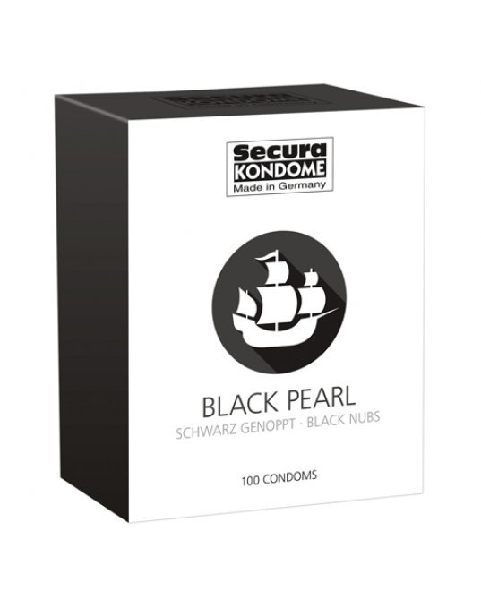 Secura Kondome Black Pearl x100 Condoms
