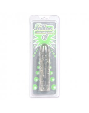Classic Clear Jelly 8 Inch Dildo