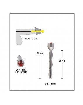 Penis Plug Jewelry Pin