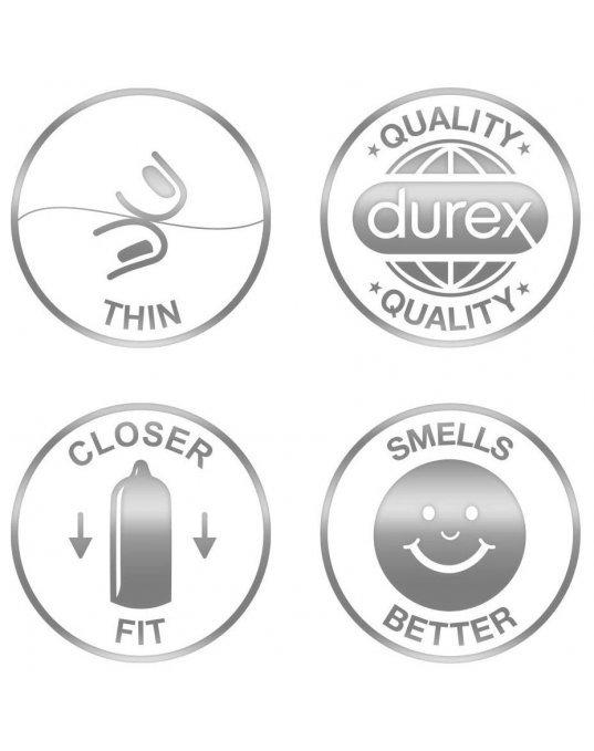 Durex Invisible Extra Sensitive 12 Pack Condoms