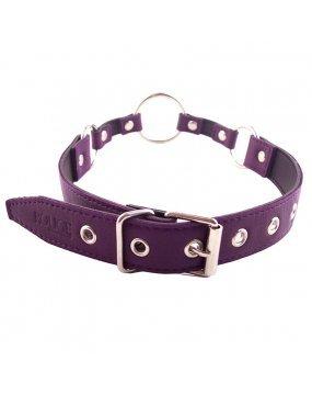 Rouge Garments O Ring Gag Purple
