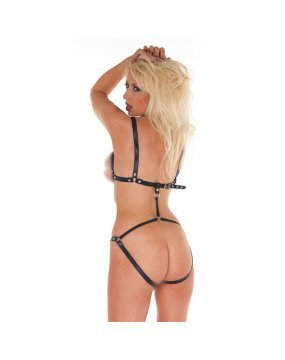 Leather Thin Strappy Body