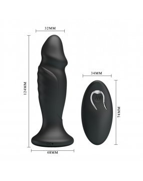 Mr Play Powerful Vibrating Anal Plug